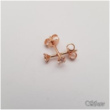 Auksiniai auskarai su cirkoniu AU12 2