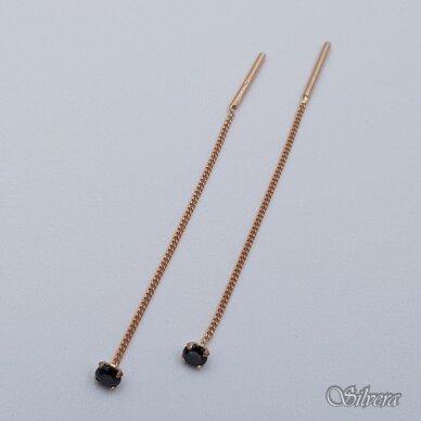 Auksiniai auskarai su cirkoniu AU375