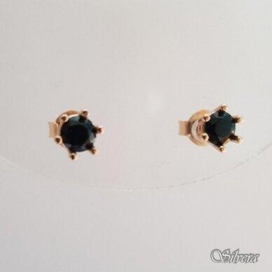 Auksiniai auskarai su cirkoniu AU73 2