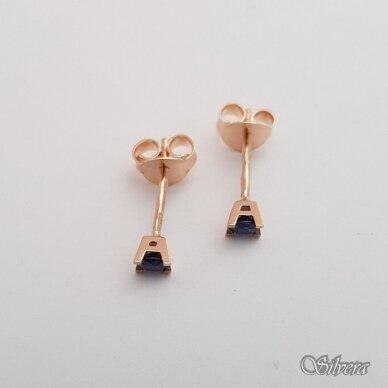 Auksiniai auskarai su cirkoniu AU76