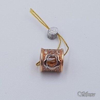 Auksinis pakabukas su cirkoniais AP193