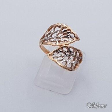 Auksinis žiedas AZ339; 17 mm