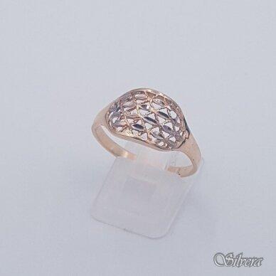 Auksinis žiedas AZ455; 20 mm