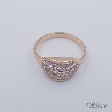 Auksinis žiedas AZ455; 20 mm 2