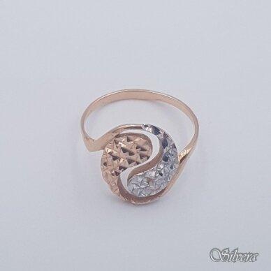 Auksinis žiedas AZ456; 20 mm 2