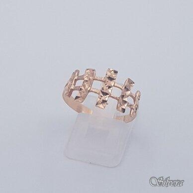 Auksinis žiedas AZ457; 20 mm