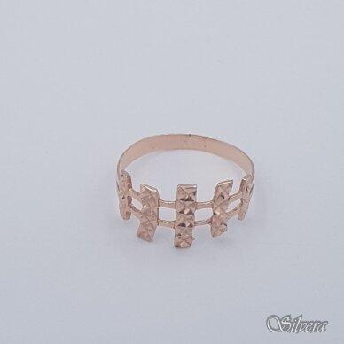 Auksinis žiedas AZ457; 20 mm 2