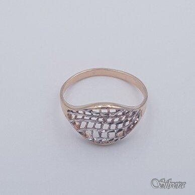 Auksinis žiedas AZ458; 20,5 mm 2