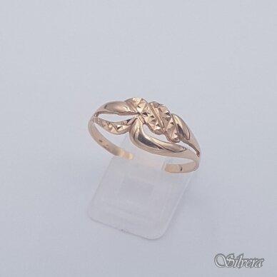 Auksinis žiedas AZ463; 21,5 mm