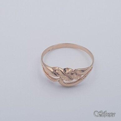 Auksinis žiedas AZ463; 21,5 mm 2