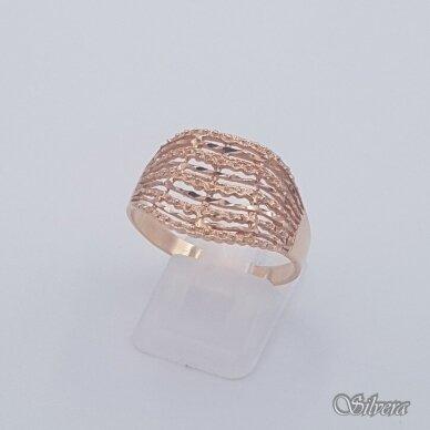 Auksinis žiedas AZ465; 21,5 mm