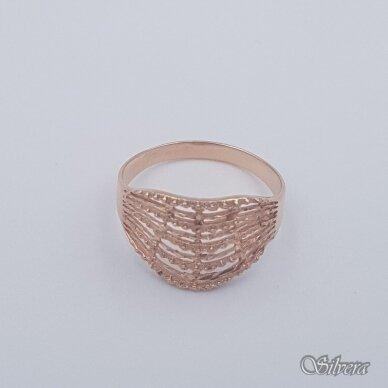 Auksinis žiedas AZ465; 21,5 mm 2