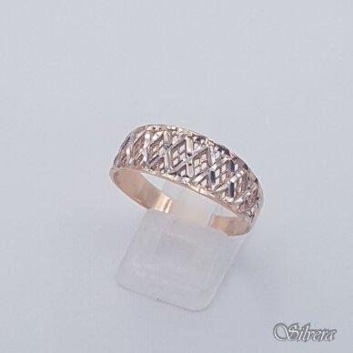 Auksinis žiedas AZ468; 22 mm