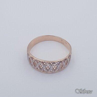 Auksinis žiedas AZ468; 22 mm 2
