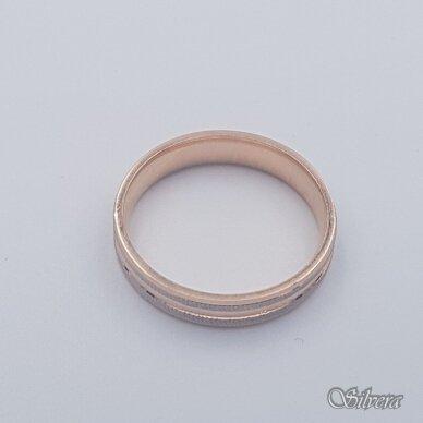 Auksinis žiedas AZ470; 21,5 mm 2