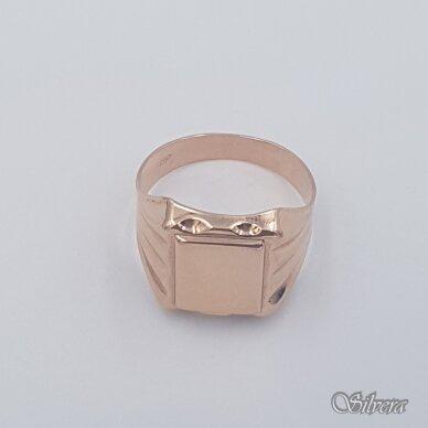 Auksinis žiedas AZ471; 19 mm 2