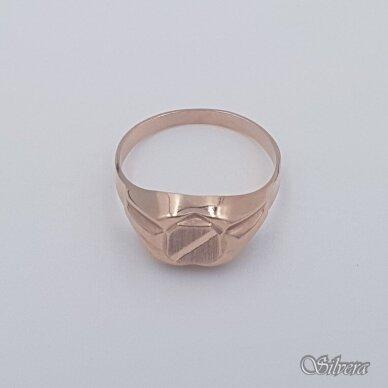 Auksinis žiedas AZ472; 20 mm 2