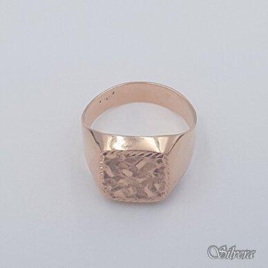 Auksinis žiedas AZ473; 20 mm 2