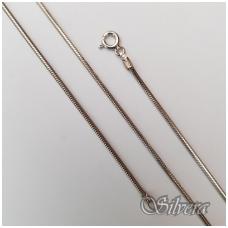 Rodžiuota sidabrinė grandinėlė CTD140ox; 50 cm
