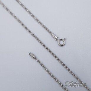 Rodžiuota sidabrinė grandinėlė CO16; 55 cm