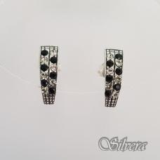 Sidabriniai auskarai su cirkoniais Au2249