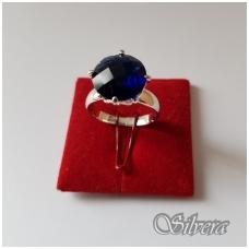 Sidabrinis žiedas su cirkoniu Z1039; 17,5 mm