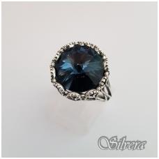 Sidabrinis žiedas su cirkoniu Z1090; 20,5 mm