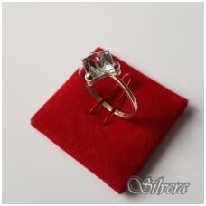 Sidabrinis žiedas su cirkoniu Z1107; 18 mm