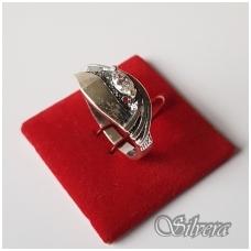 Sidabrinis žiedas su cirkoniu Z1147; 19,5 mm