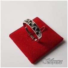 Sidabrinis žiedas su cirkoniu Z1249; 19 mm
