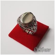 Sidabrinis žiedas Z048; 22 mm