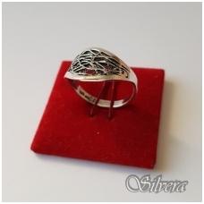 Sidabrinis žiedas Z1076; 17 mm