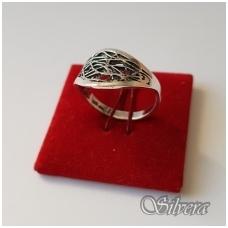 Sidabrinis žiedas Z1076; 19 mm