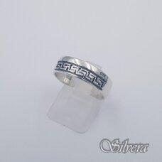 Sidabrinis žiedas Z1120; 18,5 mm