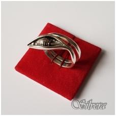 Sidabrinis žiedas Z1126; 19 mm