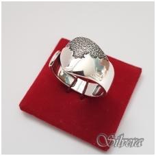 Sidabrinis žiedas Z1171; 19 mm