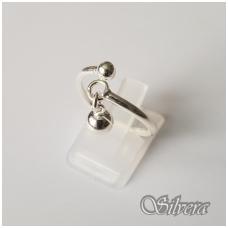 Sidabrinis žiedas Z121; 15,5 mm