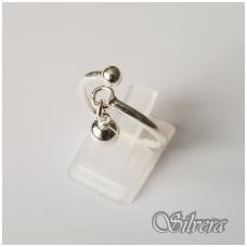 Sidabrinis žiedas Z121; 18 mm