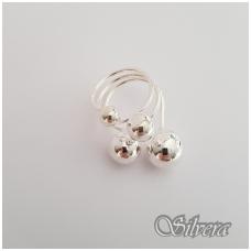 Sidabrinis žiedas Z140; 17 mm