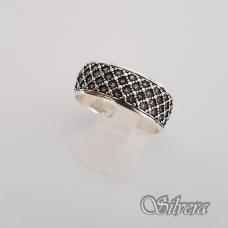 Sidabrinis žiedas Z141; 21 mm