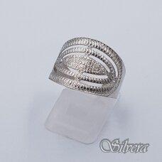 Sidabrinis žiedas Z237; 19,5 mm