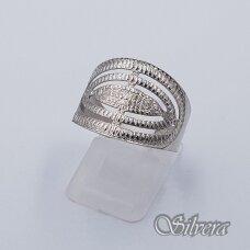 Sidabrinis žiedas Z237; 20 mm