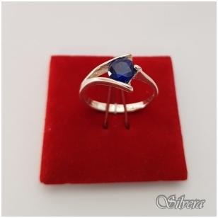 Sidabrinis žiedas su cirkoniu Z1007; 17 mm