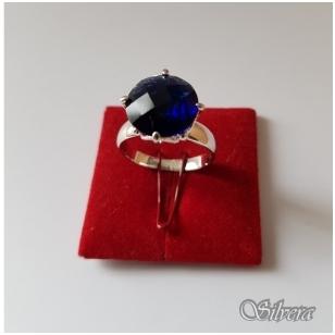 Sidabrinis žiedas su cirkoniu Z1039; 16,5 mm
