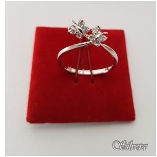 Sidabrinis žiedas su cirkoniu Z1086; 17 mm