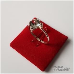 Sidabrinis žiedas su cirkoniu Z1107; 18,5 mm