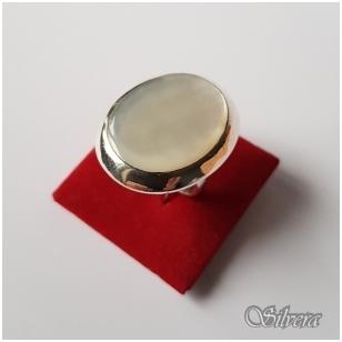 Sidabrinis žiedas su perlamutru Z2032; 16,5 mm