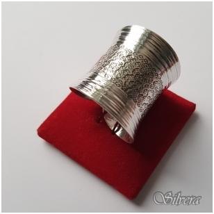 Sidabrinis žiedas Z037; 18 mm