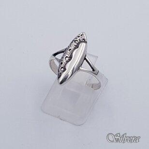 Sidabrinis žiedas Z058; 18 mm