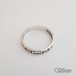 Sidabrinis žiedas Z093; 20,5 mm